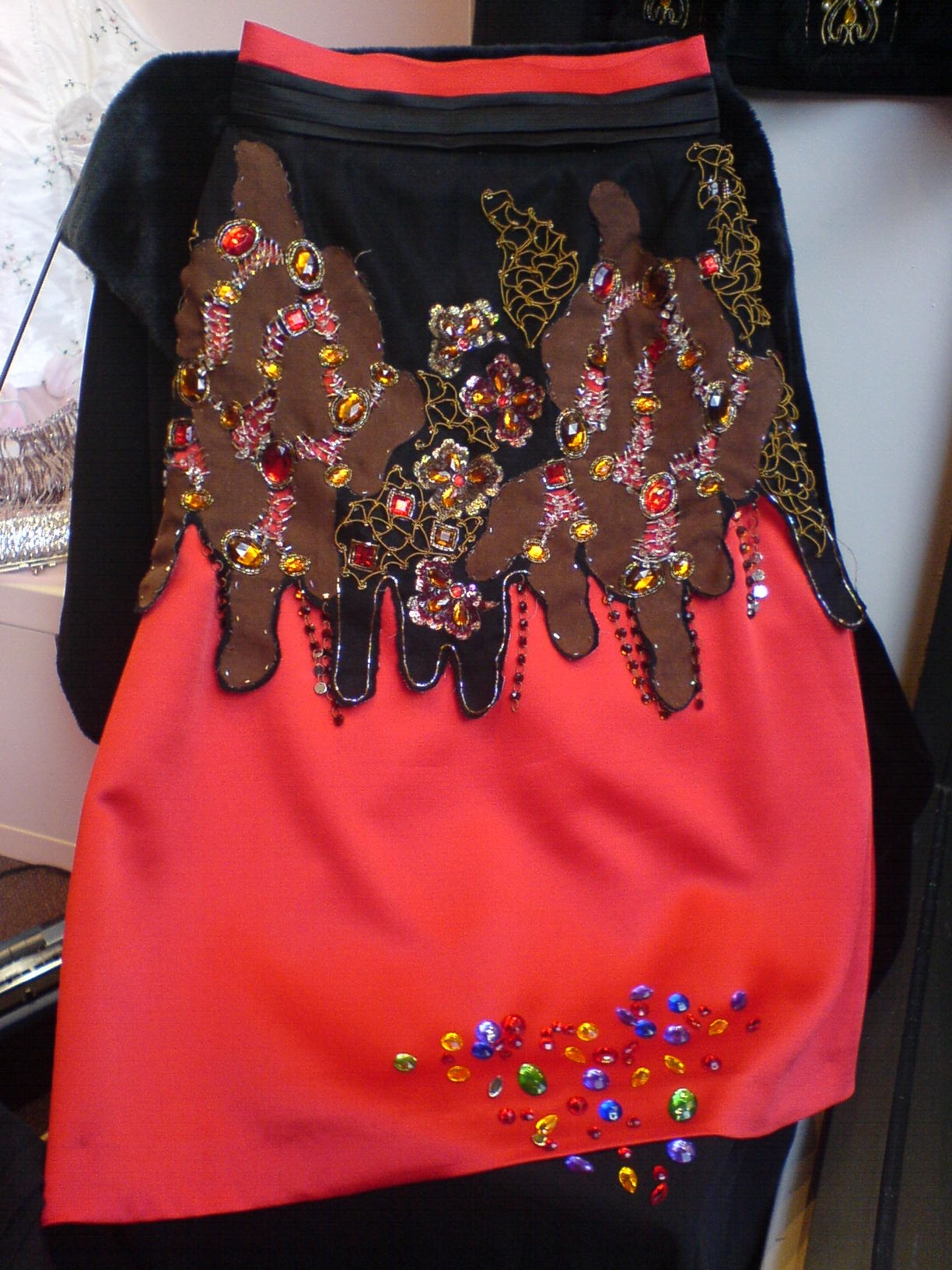 jewelled skirt