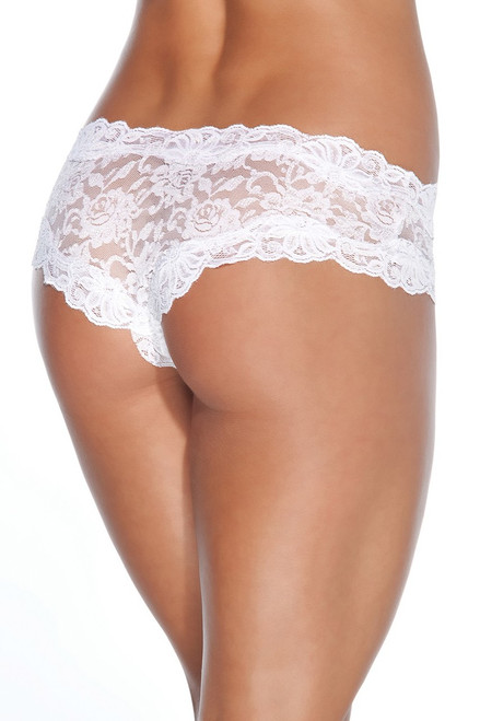 white crotchless lace underwear Bridal Lingerie