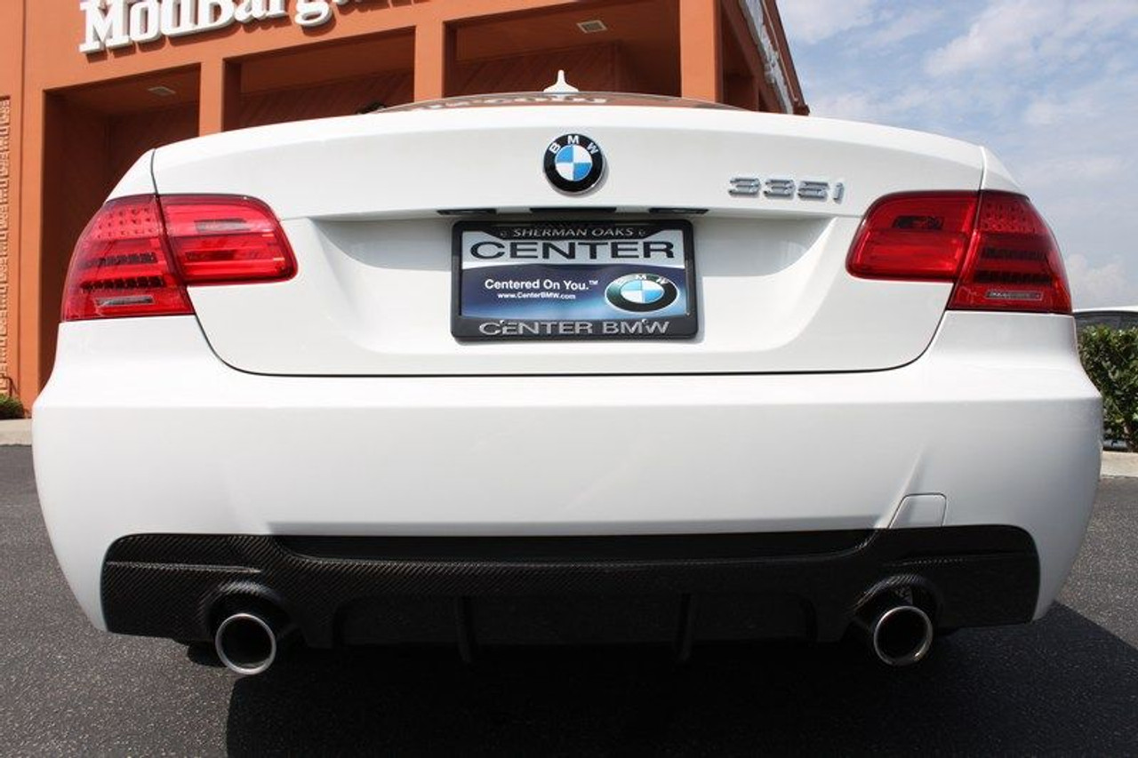 Carbon Fiber Rear Diffuser For 2007 12 Bmw 335i E92 Performance Style For M Sport Extreme Power House