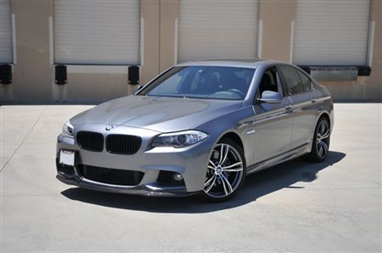 Carbon Fiber Front Lip For 2010 Bmw 5 Series W M Sport F10 A Style Extreme Power House