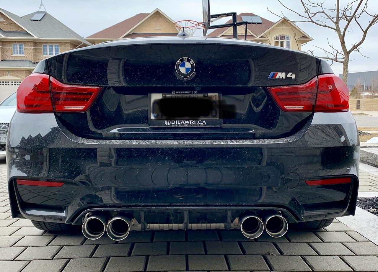 Supreme Power BMW F8x M3/M4 Exhaust Tip