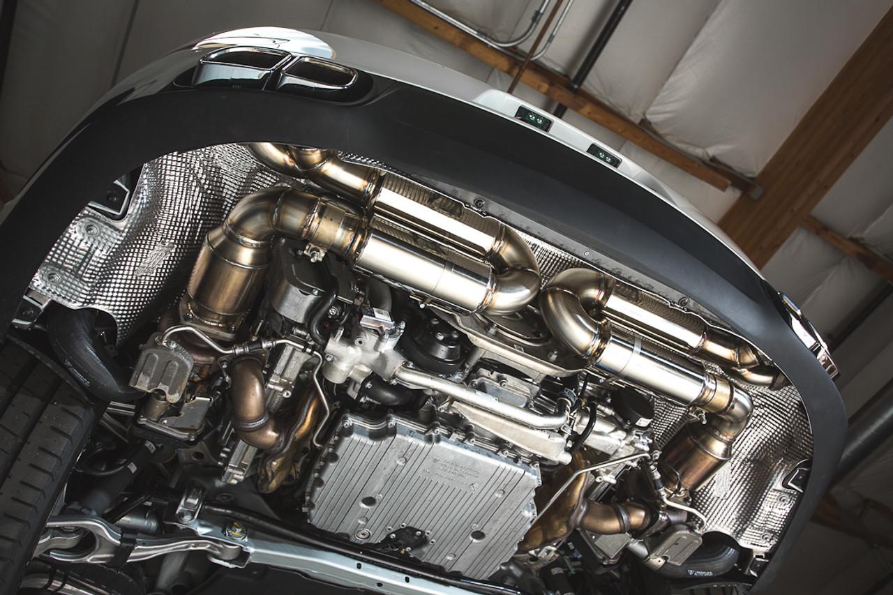 AGENCY POWER PERFORMANCE RACING MUFFLER PORSCHE 991 TURBO 14-15  [AP-991TT-170]