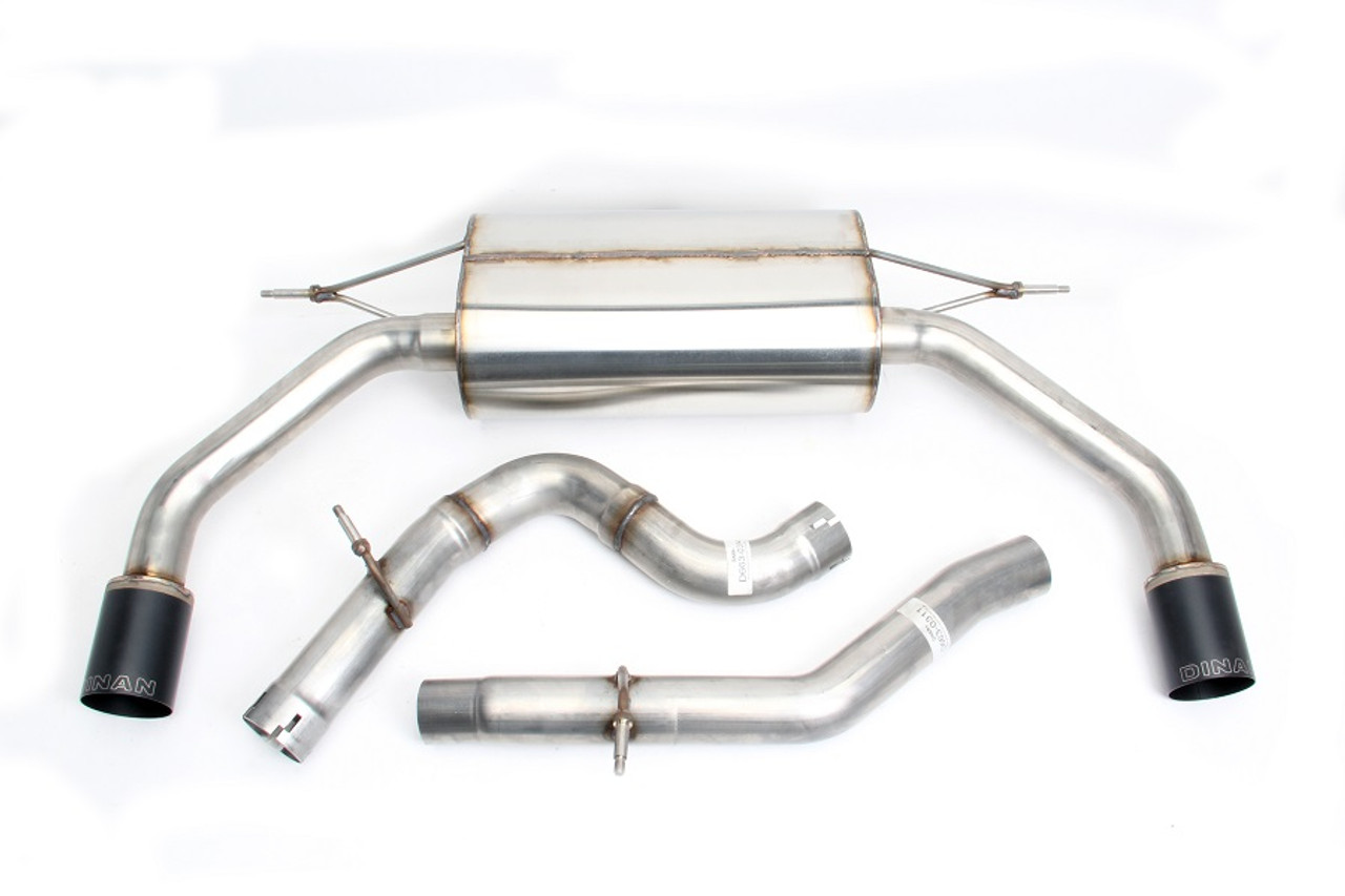 Dinan Free Flow Exhaust with Black Tips for Audi A3 2 0L (8V)