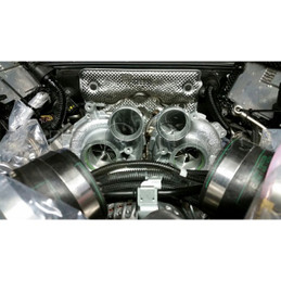 Pure Turbos BMW N54 stage 2 turbo upgrade  Fit 135 and 335
