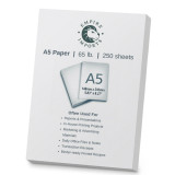 Empire Imports 65 lb. Heavy-Duty Cardstock, A5 Size, 1 Ream, 250 Sheets, Product Photo