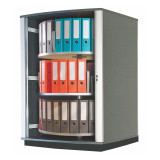 Moll LockFile Binder & File Carousel Cabinet, 3-Tier, Product Photo