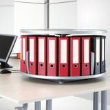 Moll Desktop Binder & File Carousel, Stylized Photo 2