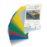 Leitz Plastic Project Folders, Multi Color 2