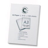 Empire Imports 20 lb. Multi-Purpose Paper, A3 Size, 1 Ream, 500 Sheets, Product Photo