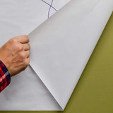 Leitz Static Cling Dry Erase Whiteboard Paper, Blank, Easily Removed