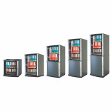 Moll LockFile Binder & File Carousel Cabinet, 4-Tier, Different Available Sizes