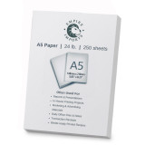 Empire Imports 24 lb. Multi-Purpose Paper, A5 Size, 1 Ream, 250 Sheets, Product Photo