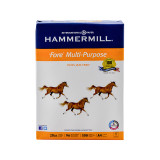 Hammermill 20 lb. 4-Hole Punched Paper, A4 Size, 1 Ream, 500 Sheets, Product Photo
