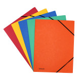 Leitz 3-Flap Folders with Elastic Band Closure, Product Photo