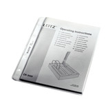 "Leitz Sheet Protectors for 8.5"" x 5.5"" Paper, A5 Size, Stylized Photo"