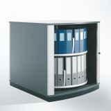 Moll LockFile Binder & File Carousel Cabinet, 2-Tier, Product Photo 2
