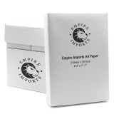 Empire Imports 20 lb. Paper Case, A4 Size, 5 Reams, 500 Sheets Per Ream