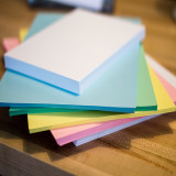 Empire Imports 20 lb. Colored Paper, A4 Size, 1 Ream, 500 Sheets, Stack of Paper