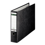 "Leitz 2-Ring Binder for A3 Sized Paper, 3"" Spine, European Ring Spacing, Black"