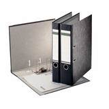 """Leitz R80 Black Marbled 2-Ring Binder, A4 Size, 3"""" Spine, European Ring Spacing, Product Photo"""