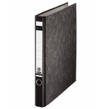 "Leitz R25 Black Marbled 2-Ring Binder, A4 Size, 1"" Spine"