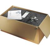 "Leitz R50 Black Marbled 2-Ring Binders, A4 Size, 2"" Spine, European Ring Spacing, Unassembled Bulk Pack of 48"