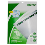 Replacement Spine Labels for Leitz Deluxe A4 Binder 1010, Product Photo
