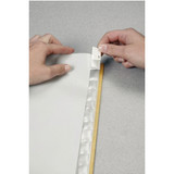 Leitz Plastic A4 Index Tabs, Inserting Label