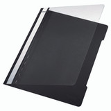 Leitz Plastic Presentation Folder, Open Front
