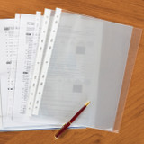 Empire High Capacity A4 Sheet Protectors, Stylized Photo