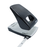 Leitz 2 Hole Punch - 40 Sheet Capacity, Variety of Paper Sizes