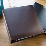 A4 Faux Leather Binder, Stylized Photo