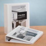 "A4 Heavy Duty View Binder - 1.5"" Spine, Stylized Photo"