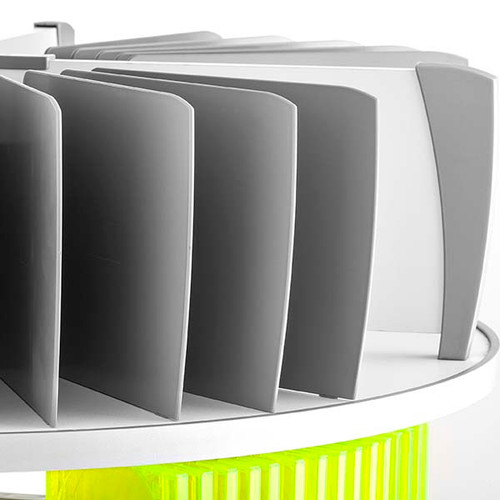 Moll Deluxe Binder & File Carousel Organizer Set, Product Photo