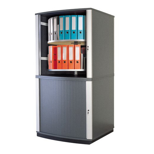 Moll LockFile Binder & File Carousel Cabinet, 4-Tier, Product Photo