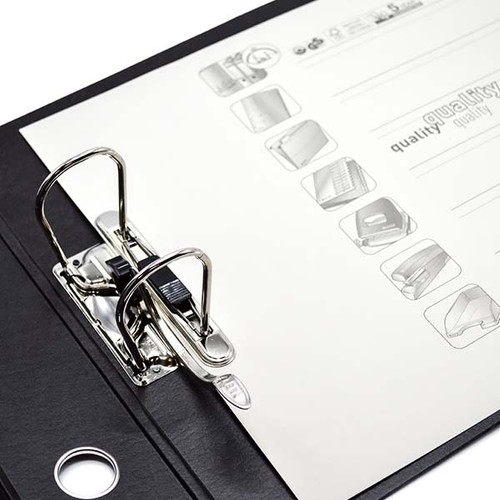 """Leitz 2-Ring Binder for A3 Sized Paper, 3"""" Spine, European Ring Spacing, Rings"""