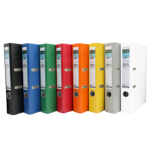 "Leitz 1015 Deluxe 2-Ring Binder, A4 Size, 2"" Spine, European Ring Spacing, All Colors"