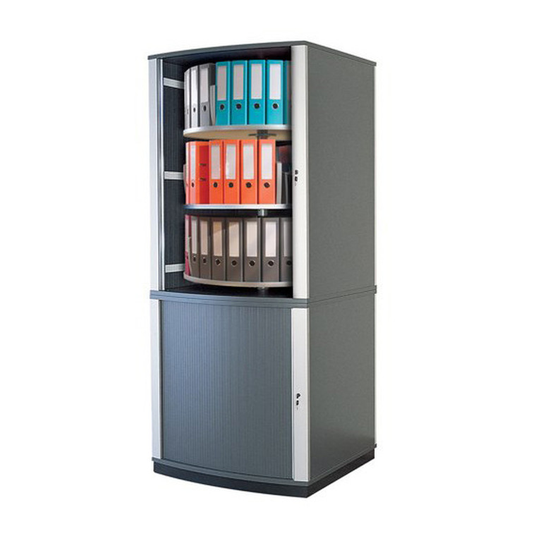 Moll LockFile Binder & File Carousel Cabinet, 5-Tier, Product Photo