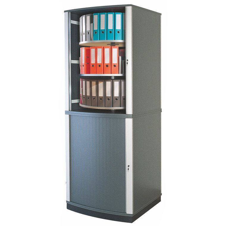 Moll LockFile Binder & File Carousel Cabinet, 6-Tier, Product Photo