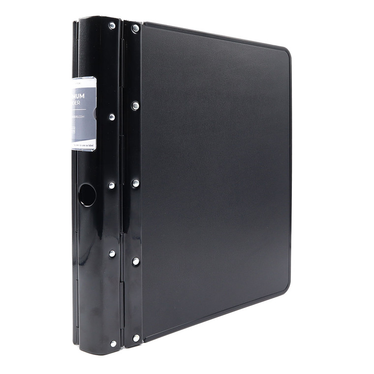 """Optimum Heavy-Duty 4-Ring Binder, A4 Sized, 2"""" Spine, Product Photo"""