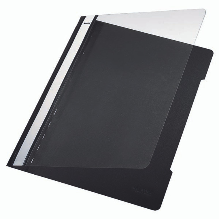 Leitz Plastic Presentation Folder, Open Front