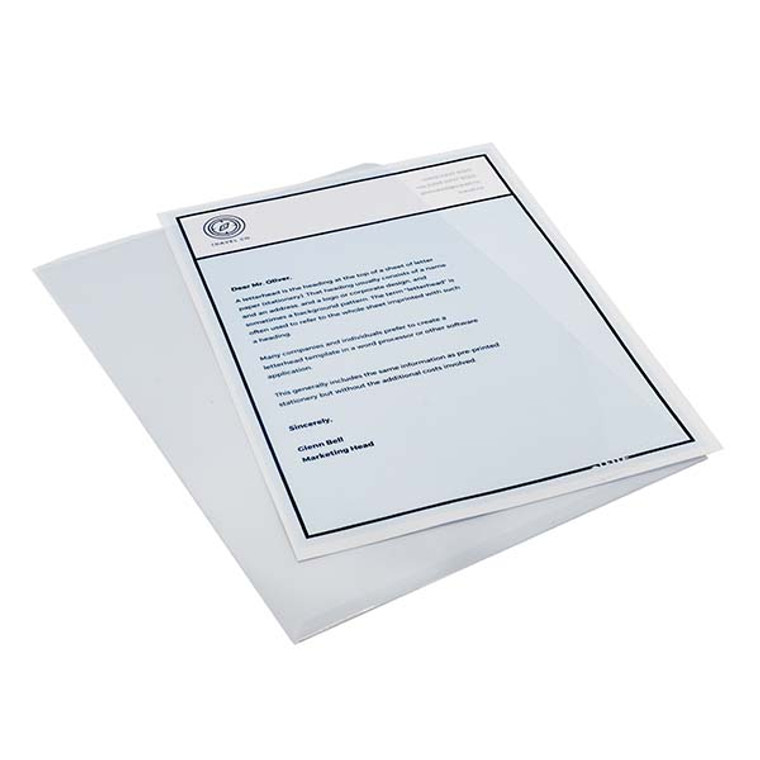 Leitz Reinforced A4 Plastic Sleeves, Product Photo