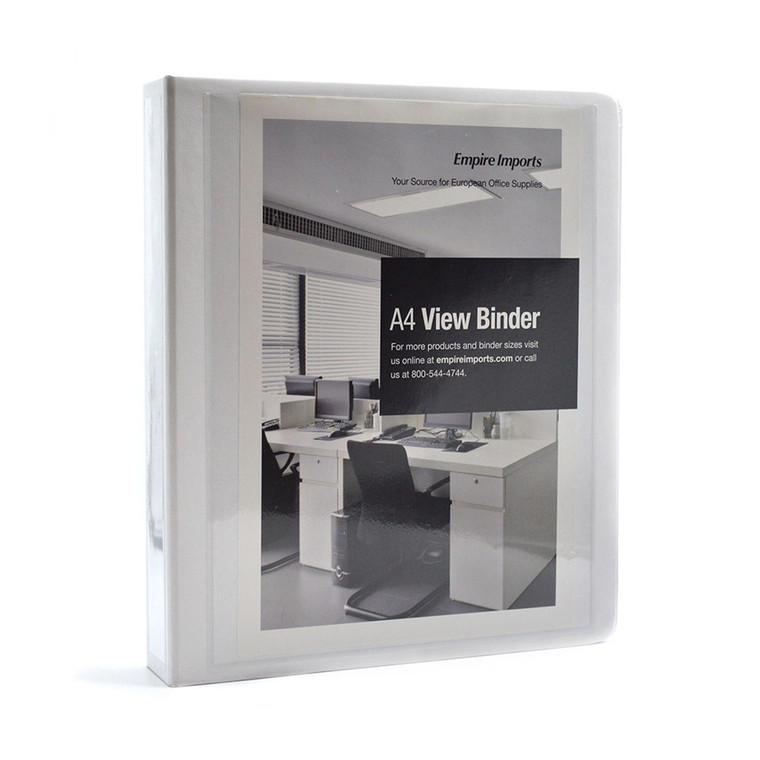"""A4 Heavy Duty View Binder - 1.5"""" Spine, Product Photo"""