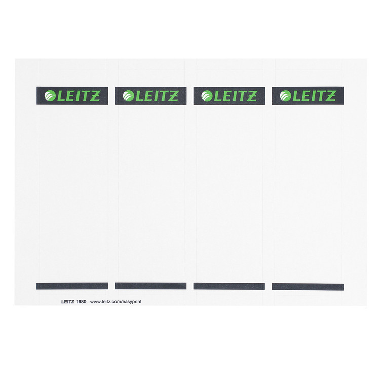 Replacement Spine Labels for Leitz 1010 Deluxe Binder, Single