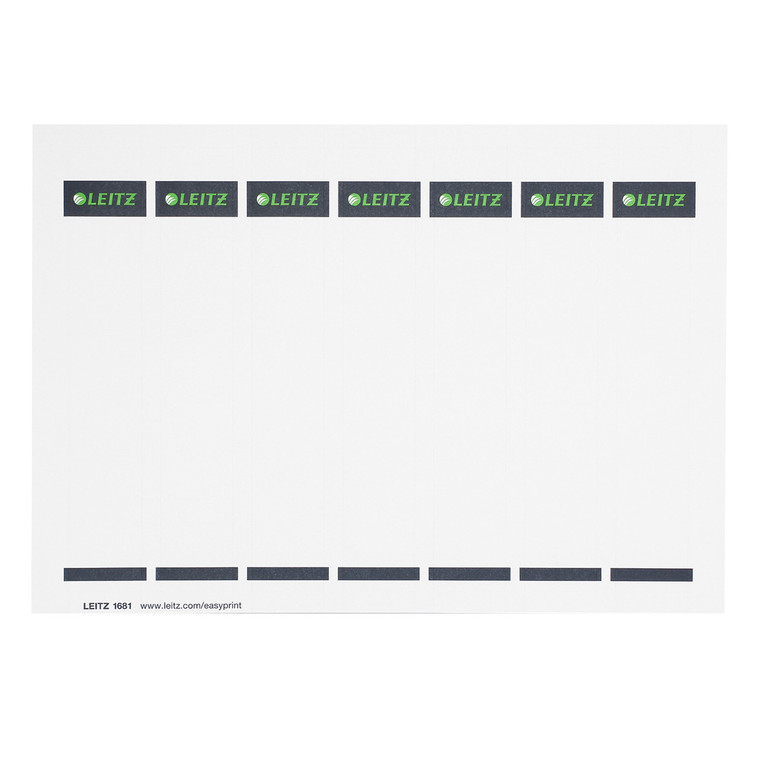Replacement Spine Labels for Leitz 1015 Deluxe Binder, Single