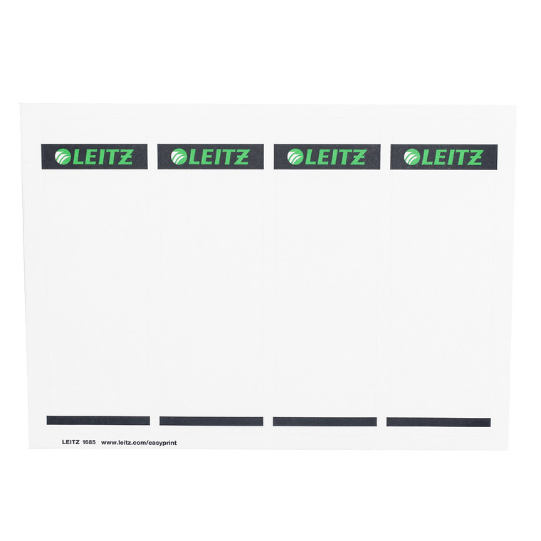Replacement Spine Labels for Leitz R80 Binder, Single