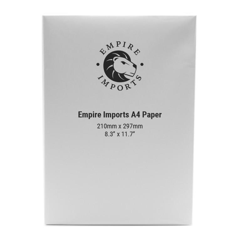 Empire Imports 20 lb. Paper, A4 Size, 500 Sheets Per Ream