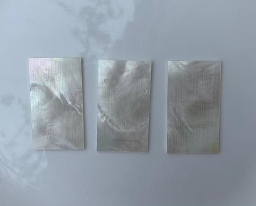 1pc White MOP blanks 28x50x1mm