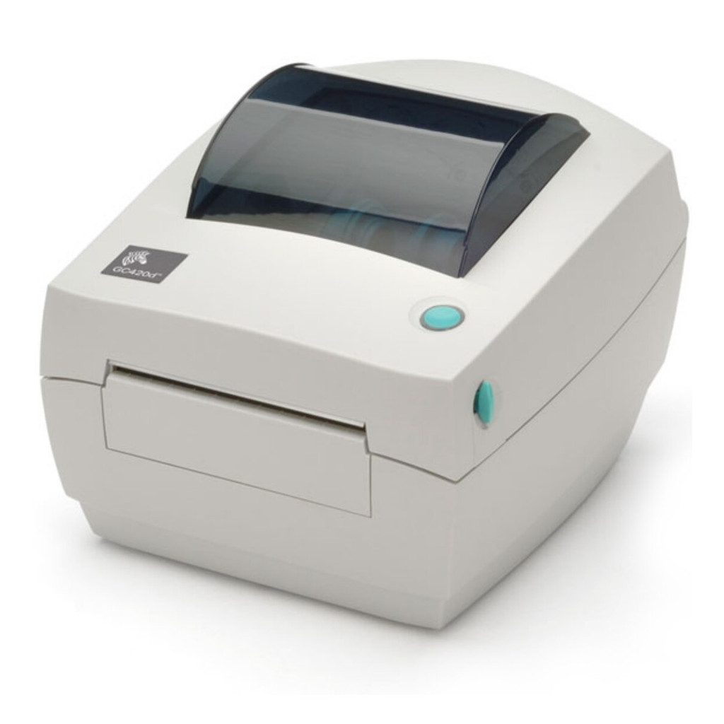 Impresora de etiquetas Zebra modelo GC420