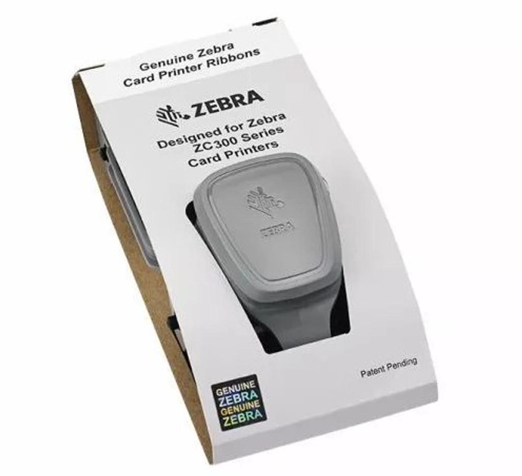 Venta en línea de Cinta Ribbon Zebra 3D Metálico SDYMCKO para ZC300 (200 impresiones) (800300-264LA)
